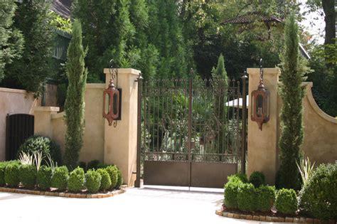 Landscape Ideas For Villas Italian Villa Traditional Landscape Atlanta By