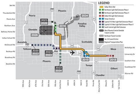 phoenix light rail schedule city approves 50 million for south phoenix light rail