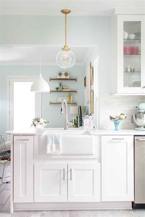 pastel kitchen chic touch to your kitchen with pastel colors
