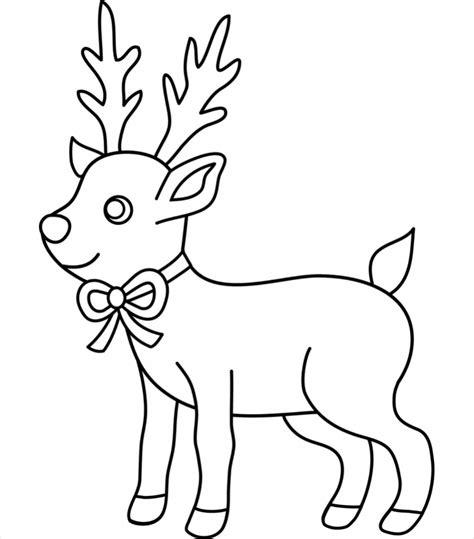 doodle draw reindeer 15 drawings jpg ai illustrator