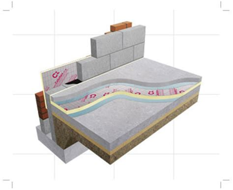 celotex concrete slab floor insulation products