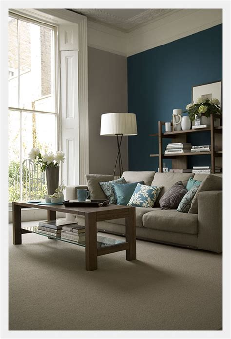accent wall color estilo home blue accent walls