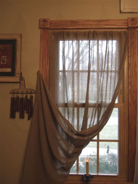 Primitive Window Curtains 95 Best Images About Primitive Window Treatments On Pinterest Window Treatments Country