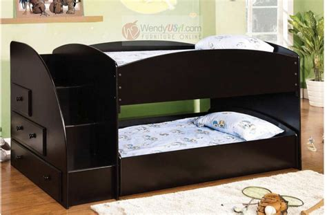 bunk bed dowels woodenglobal 13 top wooden bunk bed with desk and drawers