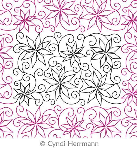 Digitized Quilting Patterns by Snowflake Swirl Cyndi Herrmann Digitized Quilting Designs