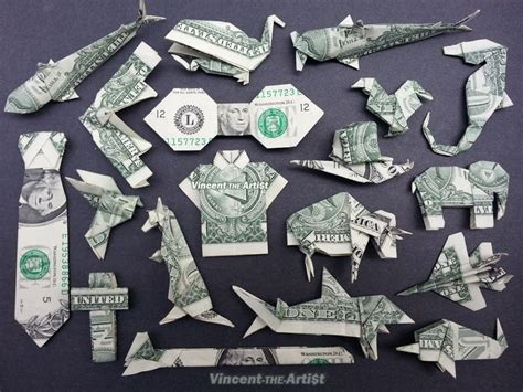 Origami Dollar Sign - 1000 ideas about money origami on dollar