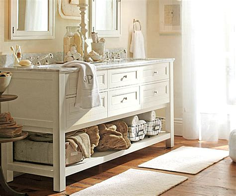 pottery barn bathroom storage 20 elegant bathroom makeover ideas