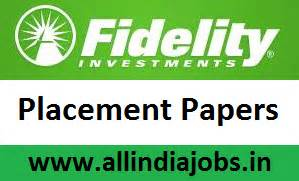 Fidelity Mba Careers by Fidelity Placement Papers Pdf 2017 2018