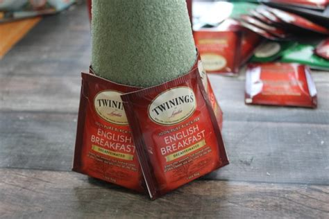 tea bag christmas tree craft coupons and freebies