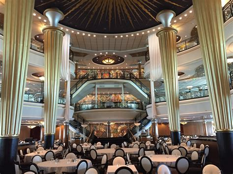 Of The Seas Dining Room by Design Dining Room On Royal Caribbean S
