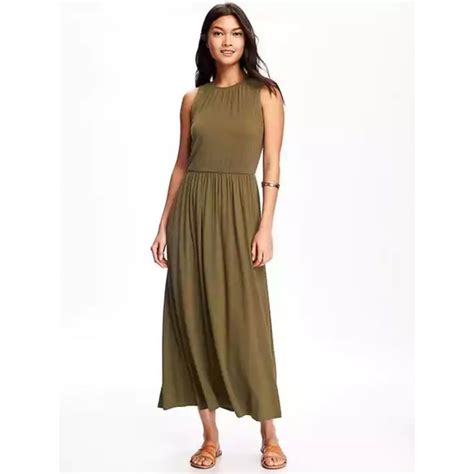 Dress Army Maxi 14 navy dresses skirts navy army green