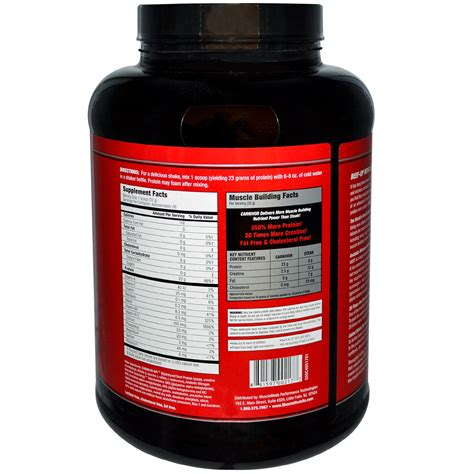 Protein Carnivor musclemeds carnivor bioengineered beef protein isolate blue raspberry 4 lbs 1816 g iherb