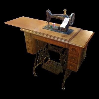 console machine antique sewing machine and console
