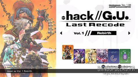 Kaset Ps4 Hack G U Last Recode test hack g u last recode ps4 band of geeks