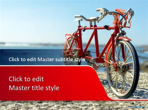 Free Kids Ppt Templates Ppt Template Bicycle Ppt Templates Free