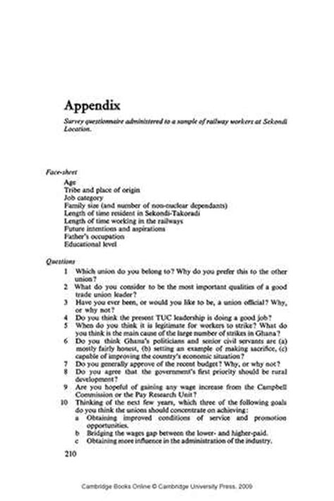 dissertation appendices dissertation appendix layout