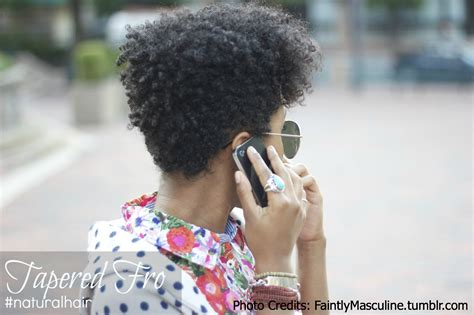 fro hairstyle natural hairstyle tapered fro natural hair rules