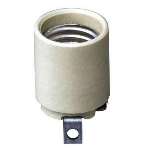 leviton 03152 00f keyless porcelain l socket white ebay