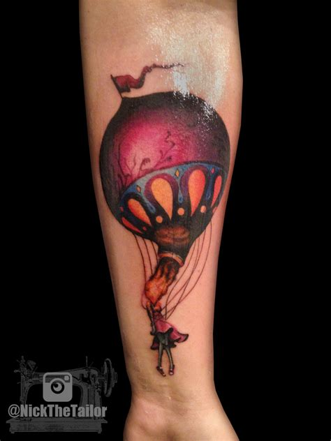 circa survive on letting go tattoo of album cover by