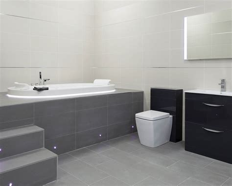 grey gloss bathroom monarch dark grey gloss tile 600 x 600mm easy bathrooms