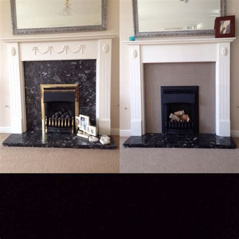 can you paint a marble surround fireplace upcycle sloan linen painted onto