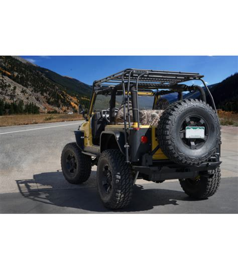 Jeep Tj Rack Jeep Tj 183 Stealth Rack 183 Lightbar Setup Gobi Racks