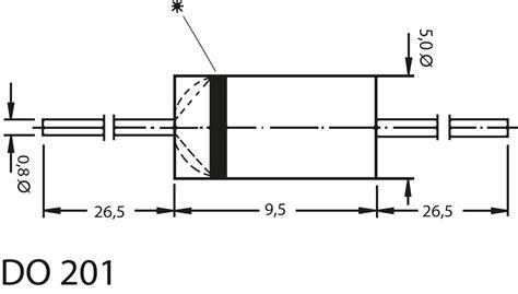 schottky diode bat46 schottky diode urrm 28 images sb 560 schottky diode do201 60v 5a bei reichelt elektronik