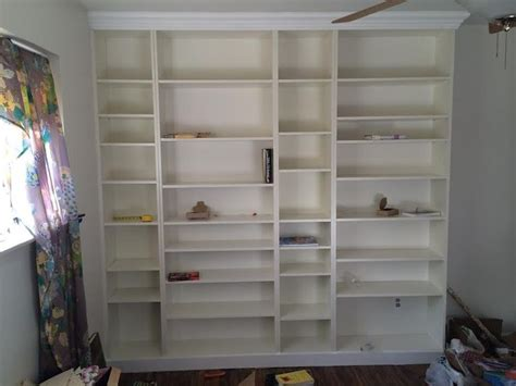 diy built in ikea billy bookshelf 12 for the home