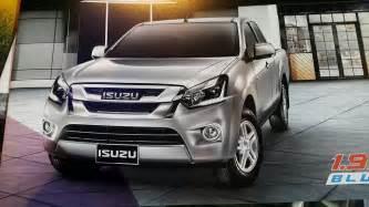 Isuzu Design Isuzu D Max Update Revealed New Design Transmissions