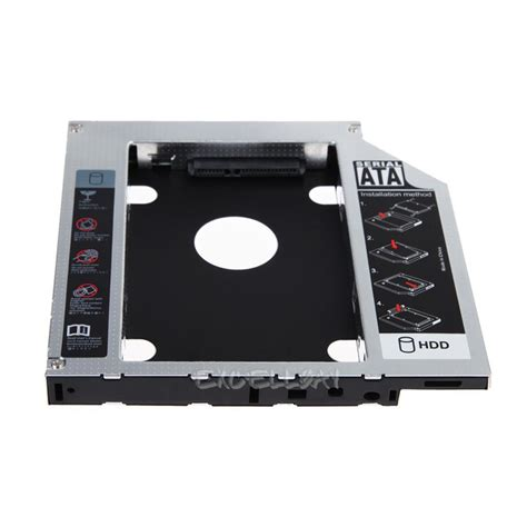 Hdd Caddy 2nd Hdd Caddy Universal 127mm Kode Ss3265 universal 12 7mm sata 2nd ssd hdd drive caddy for dvd rom cd optical bay ebay