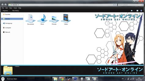 download theme untuk windows 7 anime themes swort art online untuk windows 7 anime j2 free