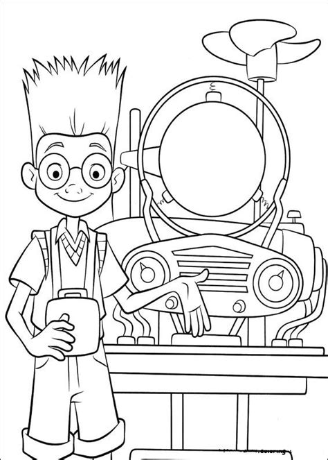 Coloring Page Meet The Robinsons Coloring Pages 25 Meet The Robinsons Coloring Pages