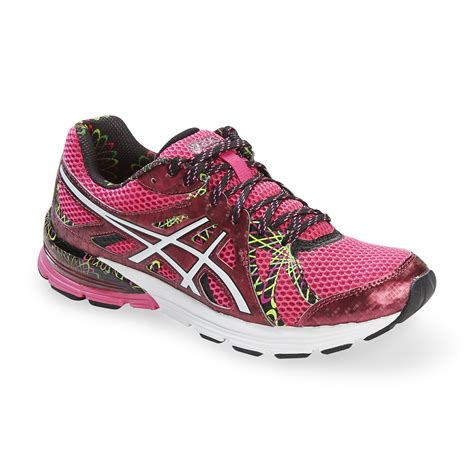 neon pink running shoes asics s gel preleus neon pink black running shoe