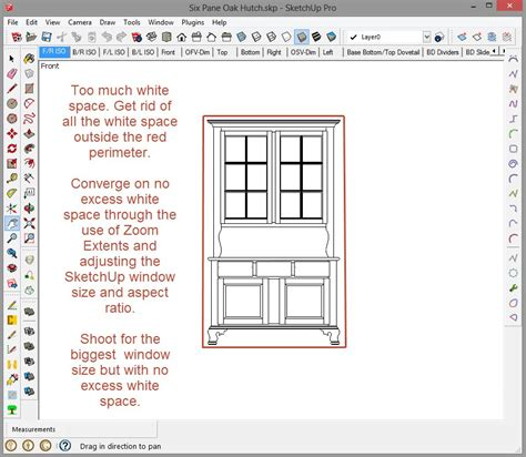 sketchup layout scale image printing to scale in sketchup