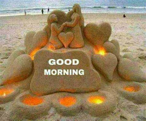good morning wishes written in sand hd wallpapers | latest