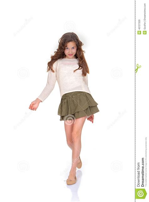 Catwalk Wardrobe by Child Fashion Model Stock Photo Image Of Modelling