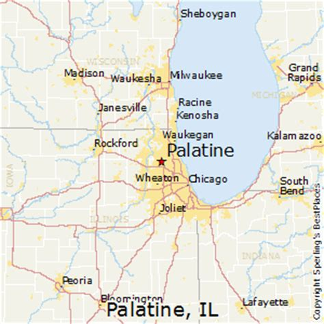 map of palatine illinois best places to live in palatine illinois
