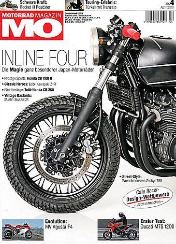Motorradzeitschrift Roadster by Motorradzeitungen Testberichte Gebrauchte