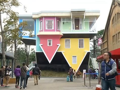 taiwan house people in taiwan are freaking out over this upside down house 1