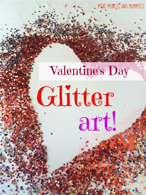 valentines day glitter images mini monets and mommies glitter s day resist
