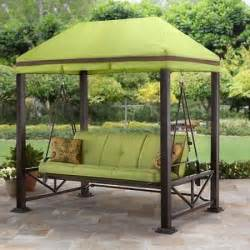 Covered Gazebos For Patios Swing Gazebo Outdoor Covered Patio Deck Porch Garden Canopy 3 Patio Swing With Canopy Schwep