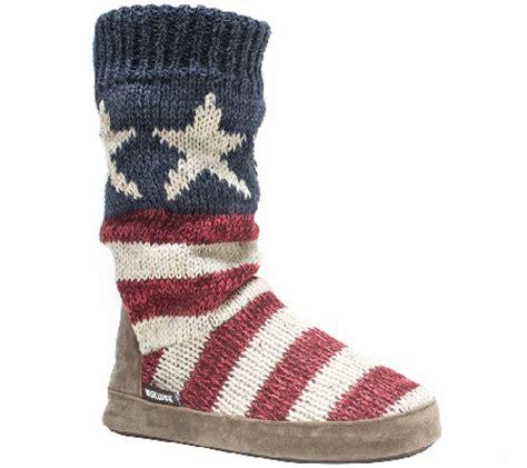 muk luks slipper boots muk luks cuff slipper boots page 1 qvc