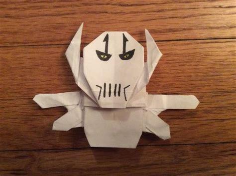 Origami General Grievous - origami general grievous again origami yoda