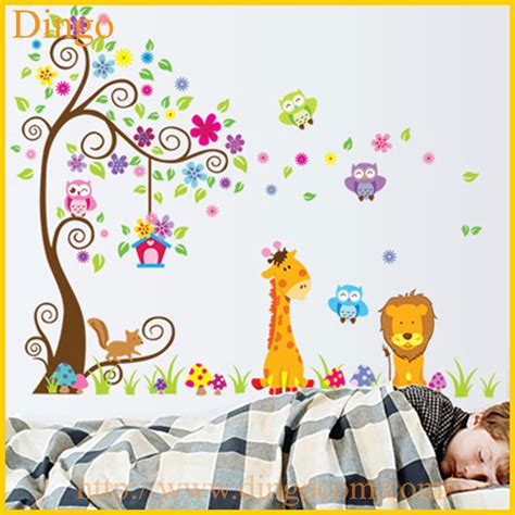 Room Mates Wall Stickers branche d arbre stickers muraux murales b 233 b 233 fille nursery
