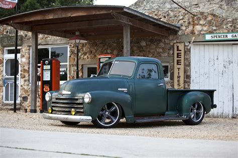 1950 chevy 3100 i d throw some period correct wheels on