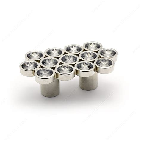 Richelieu Knobs And Pulls by Swarovski And Metal Pull 3078