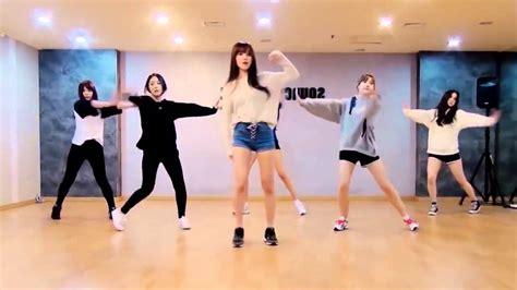 tutorial dance gfriend rough gfriend rough dance practice mirrored slowed youtube