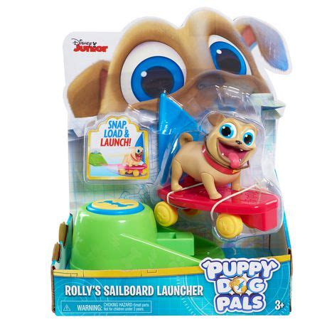 puppy pals toys puppy pals figures on the go rolly with sailboard and launcher walmart canada