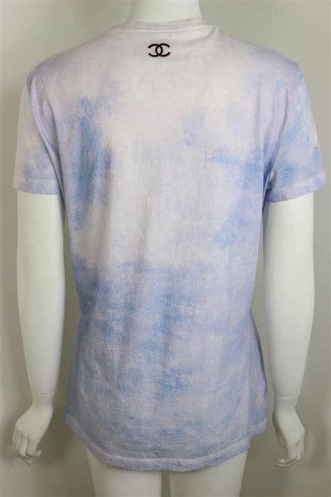 T Shirt Kaos Coco Chane 1 chanel coco chanel printed t shirt at 1stdibs