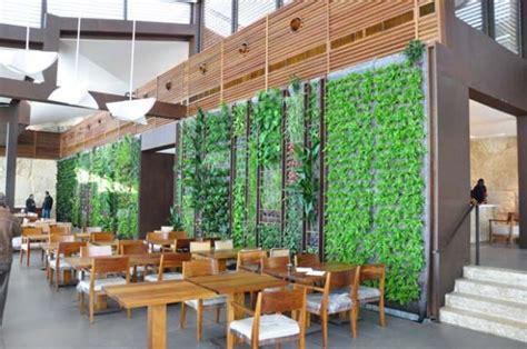 Vertical Garden Restaurant Soaring Vertical Garden Greens Al Sultan Ibrahim
